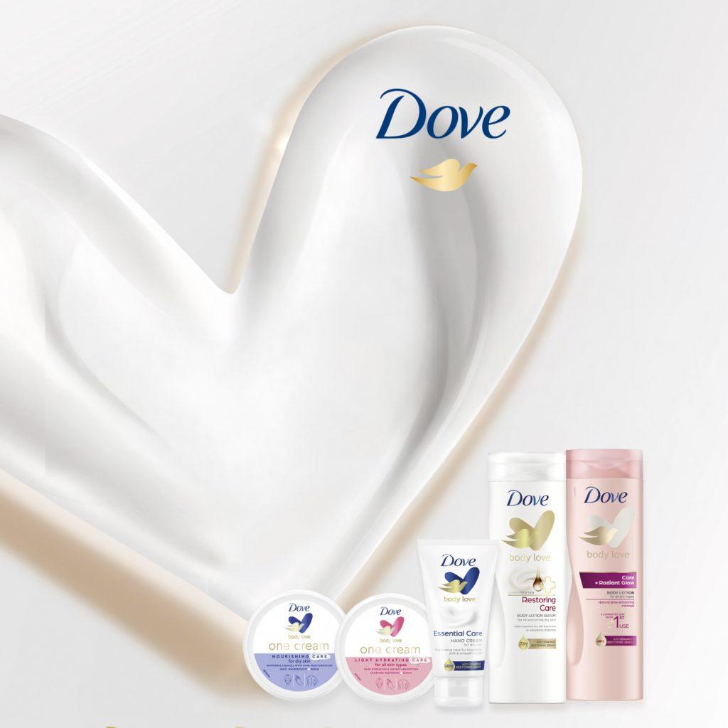 Dove Body Love nieuwe producten