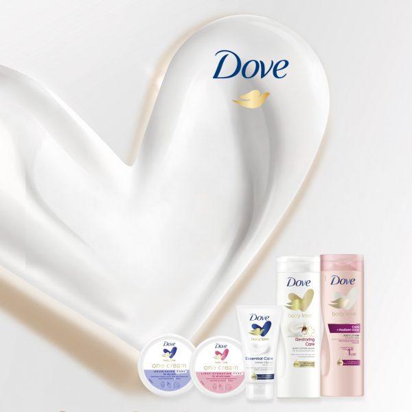 Persbericht: Dove Body Love producten