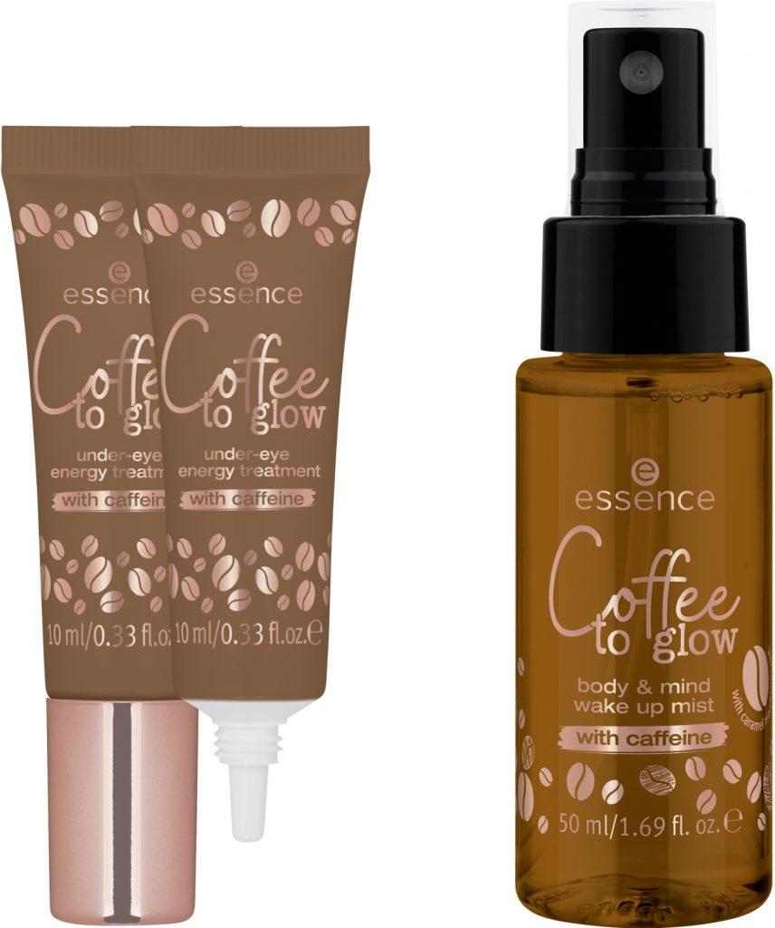 Essence Under-eye energy treatment body mist caffeine 2021