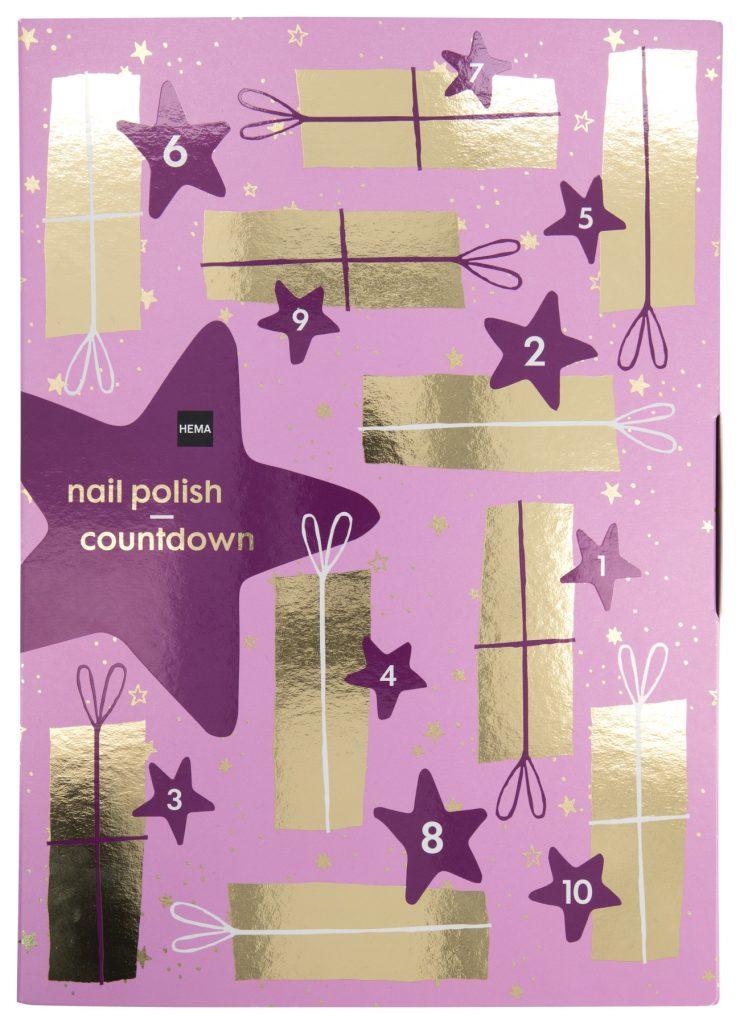 HEMA Nail polish countdown adventskalender 2021