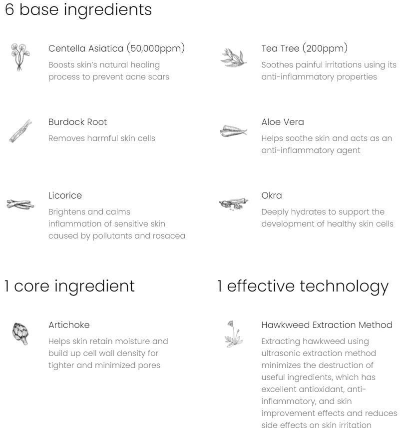 Ingredienten AXIS-Y Artichoke serum