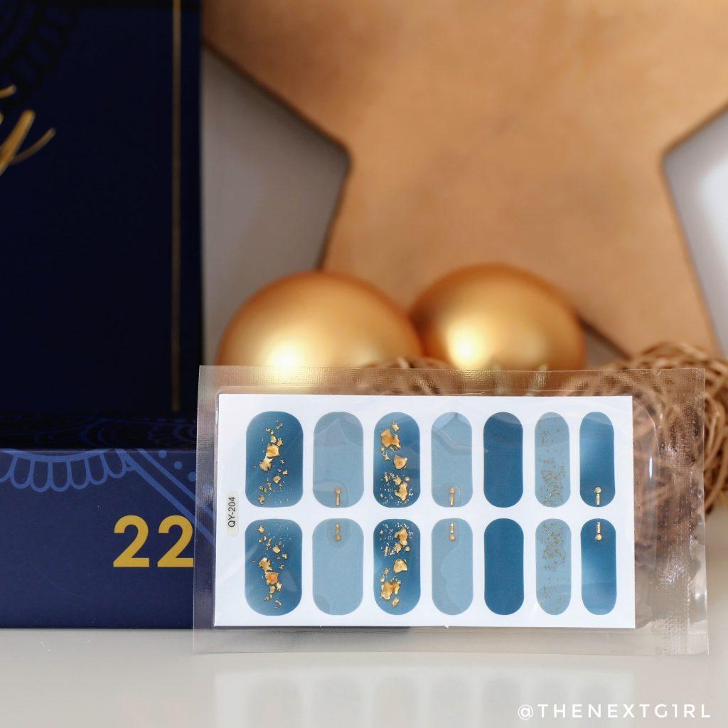 Nagelstickers in adventskalender Max & More 2021