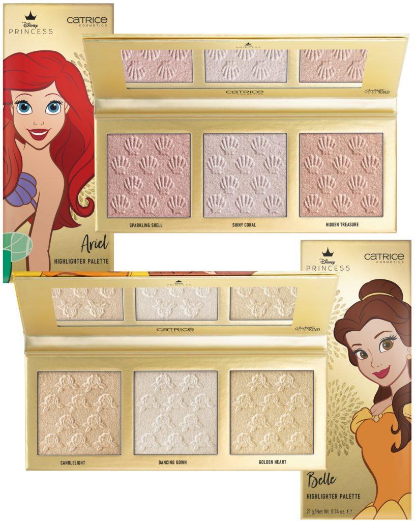 Catrice Sisterlove 2021 Highlighter palettes Belle en Ariel