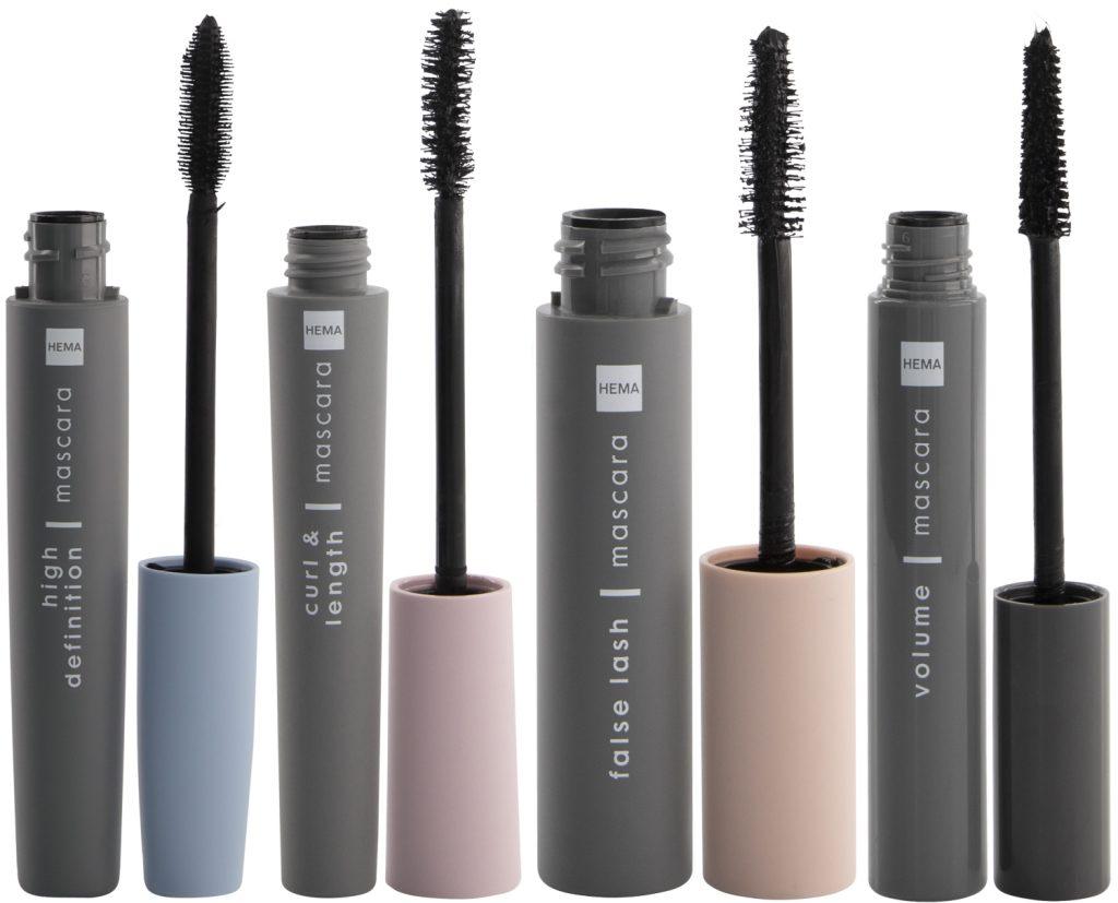 Nieuwe mascara's HEMA Beauty najaar 2021